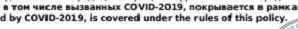 информация о covid-19 в страховке Polis Oxygen